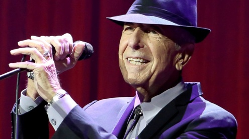 LEONARD COHEN HAS LEFT HIS MARK