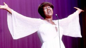 The queen of soul has left the stage